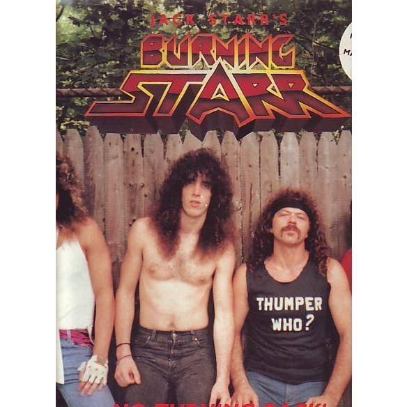Jack Starr JACK STARR39 S BURNING STARR NO TURNING BACK by BURNING