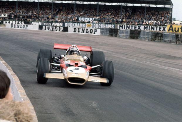 Jackie Oliver Jackie Oliver on the Lotus 49 Motor Sport Magazine Hall