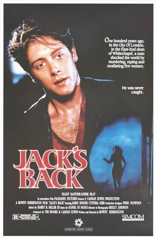 Jack's Back Jacks Back movie posters at movie poster warehouse moviepostercom