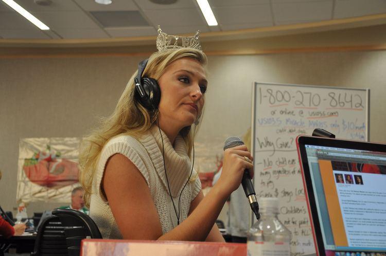 Jaclyn Raulerson Jaclyn Raulerson Miss Florida 2010 visited the Radiothon