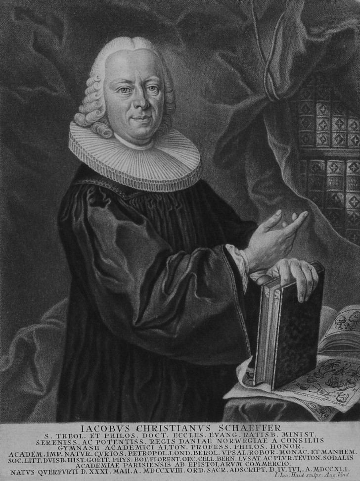Jacob Christian Schäffer Jacob Christian Schffer FRS a versatile eighteenthcentury
