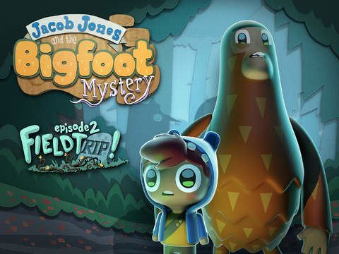 Jacob Jones and the Bigfoot Mystery Jacob Jones and the Bigfoot Mystery Episode 2 on the App Store