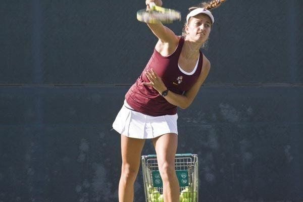 Jacqueline Cako Freshman Cako to make ASU tennis debut ASU News The