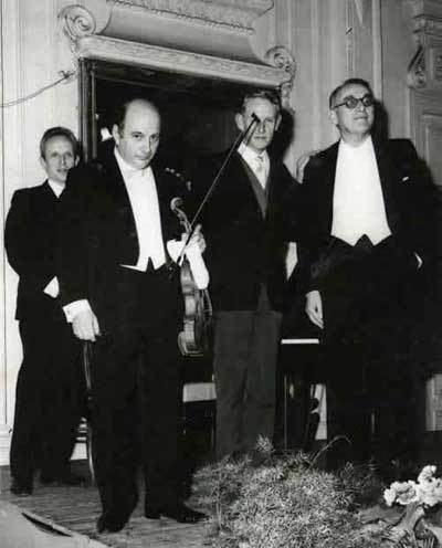 Jacques Février Pointe aux mes cole franaise de violon enregistrements historiques
