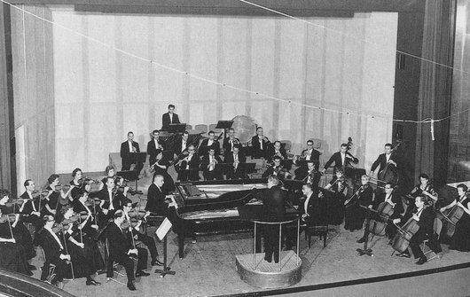 Jacques Février Francis Poulenc et Jacques Fvrier Concerto pour deux pianos avec l