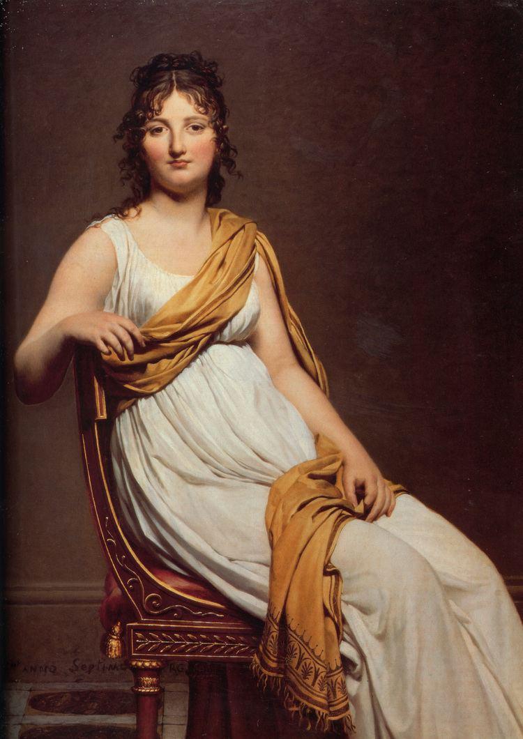 Jacques-Louis David Portrait of Madame Raymond de Verninac JacquesLouis