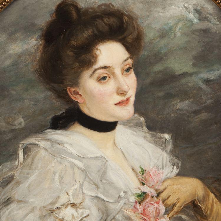 Jacques-Émile Blanche FileJacquesmile Blanche Portrait dune femme du mondejpg