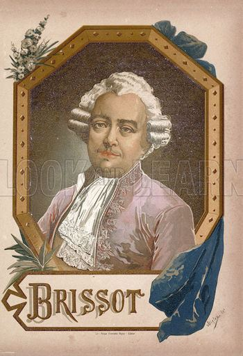 Jacques Pierre Brissot Jacques Pierre Brissot Look and Learn History Picture