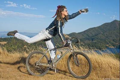 Jacquie Phelan Eight bicycle calendars for 2009 Biking Bis