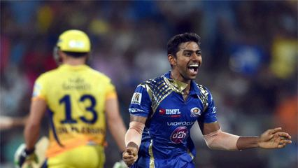 Jagadeesha Suchith IPL 8 Jagadeesha Suchith allround performance helps MI