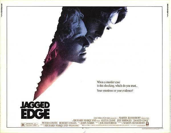 Jagged Edge (film) Jagged Edge movie posters at movie poster warehouse moviepostercom