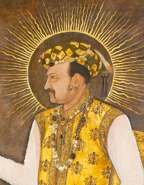 Jahangir Mughal Masterpiece Portrait of Emperor Jahangir Sells for 14