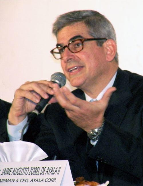 Jaime Zobel de Ayala MABS Press Releases Microenterprise Access to Banking