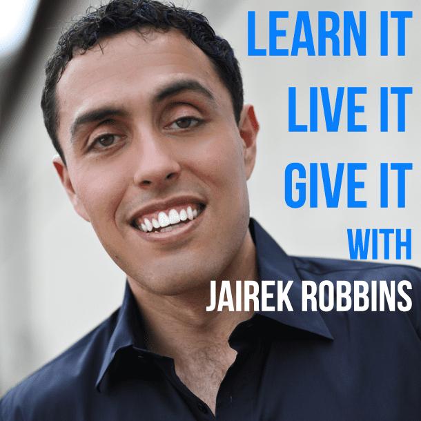 Jairek Robbins Podcastlogopng