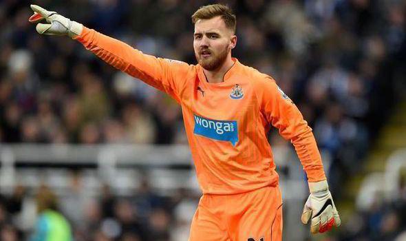 Jak Alnwick Newcastle Jak Alnwick hails Chelsea victory as great