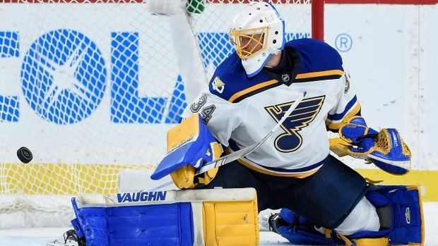 Jake Allen (ice hockey) Blues goalie Jake Allen on Hitchcock Yeo and Brodeur NHL on CBC