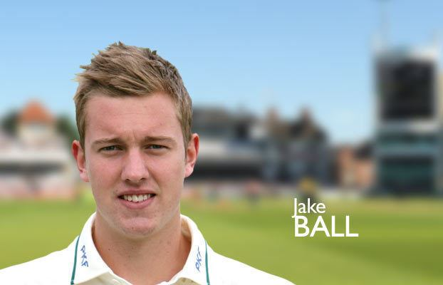 Jake Ball (cricketer) Nottinghamshire County Cricket Club Jake Ball
