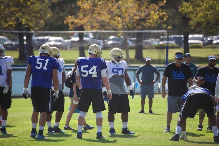 Jake Brendel Competition between nose tackle center strengthens team39s