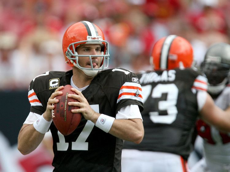 Jake Delhomme Jake Delhomme says Colt McCoy is the Browns quarterback of the