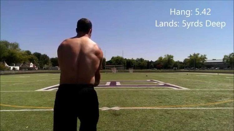 Jake Schum Jake Schum Punting Hang Time Running Film YouTube