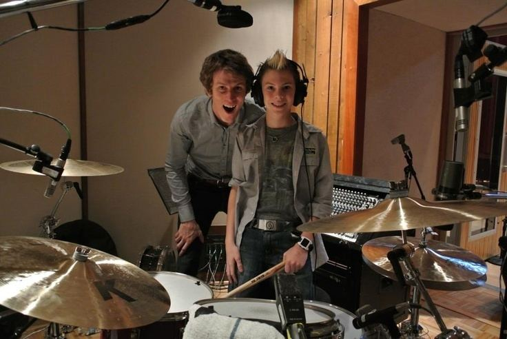 Jake Sinclair (musician) Roger in the studio with Jake Sinclair engineer producer