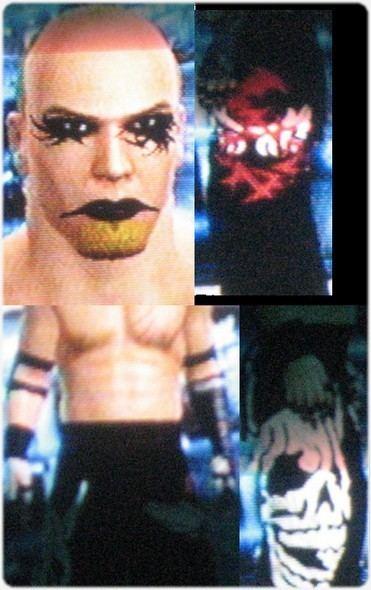 Jaki Numazawa CAWsws Jaki Numazawa CAW for SD vs RAW 2008
