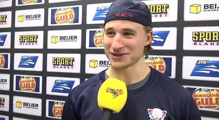 Jakob Lilja LHCs Jakob Lilja efter matchen mo Malm Redhawks i SHL