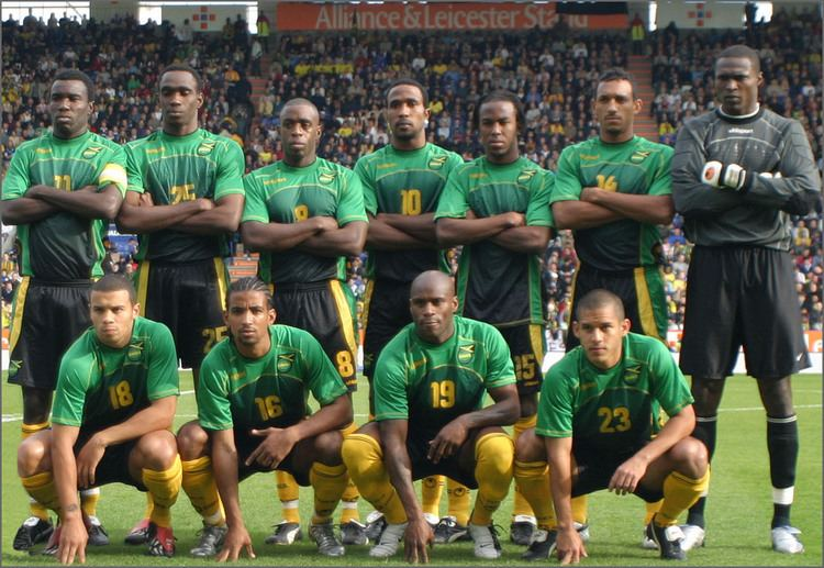 68dfb5cb4c9 Jamaica national football team Thereggaeboyzcom the Reggae Boyz Jamaica  Football