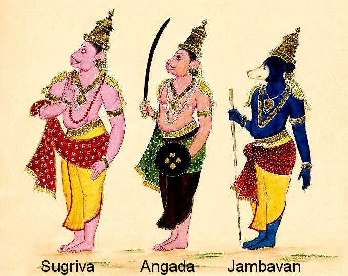 Jambavan Jambavan and the Story of the Syamantaka Jewel