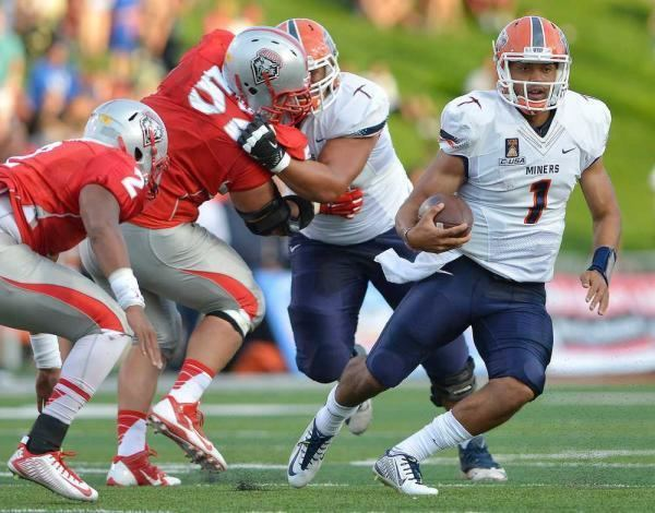 Jameill Showers UTEP QB Jameill Showers both saved demoted by Kliff