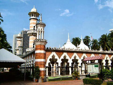 Jamek Mosque Jamek Masjid Kuala Lumpur