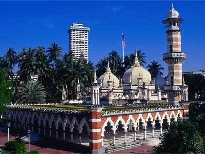 Jamek Mosque Masjid Jamek Kuala Lumpur Malaysia Tourist amp Travel Guide