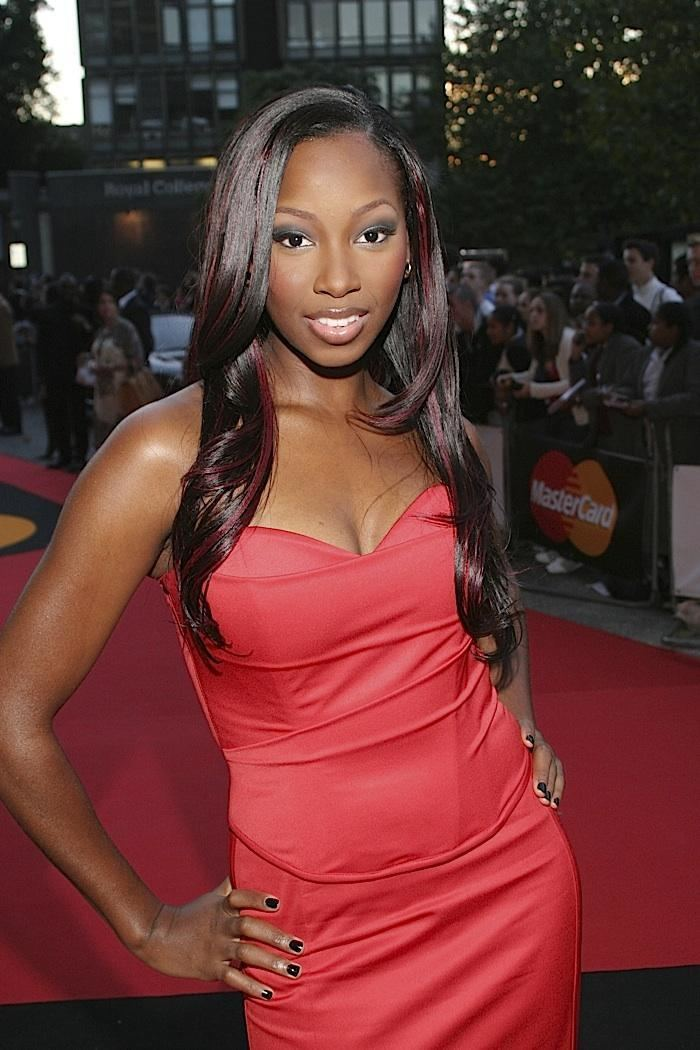 Jamelia Jamelia and Brandy MOBO Awards