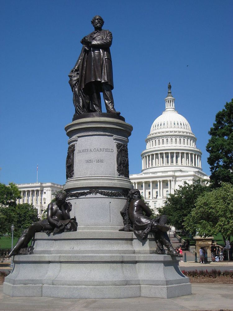 James A. Garfield Monument