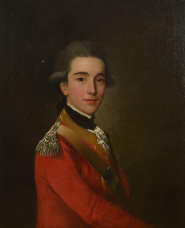 James Achilles Kirkpatrick Portrait of James Achilles Kirkpatrick by Nathaniel Hone the Elder