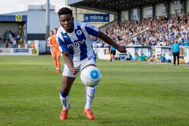 James Akintunde James Akintunde providing a Chester FC positive amid the gloom