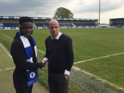 James Akintunde Chester Football Club Official Website James Akintunde