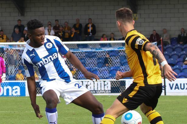 James Akintunde Chester FC James Akintunde ready to seize his chance Chester