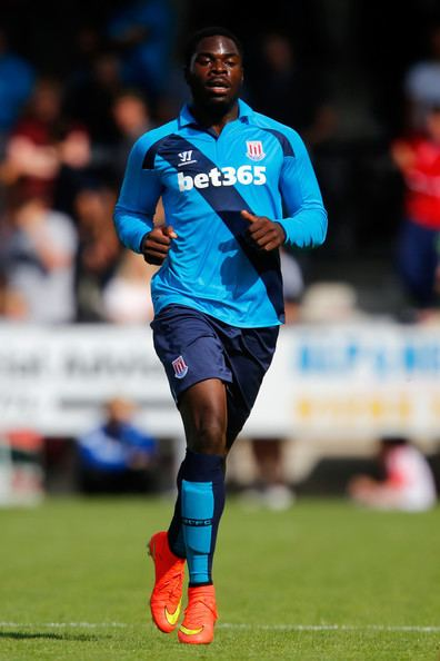 James Alabi James Alabi Photos Burton Albion v Stoke City Zimbio