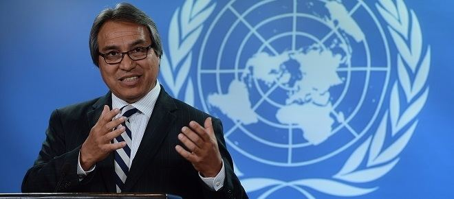 James Anaya UN rapporteur says Canada faces an aboriginal crisis