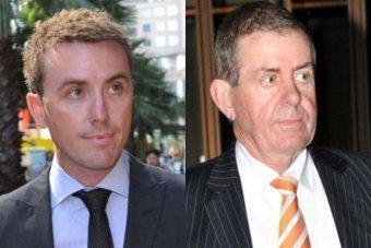 James Ashby James Ashby AFP search former political staffer39s parents39 home