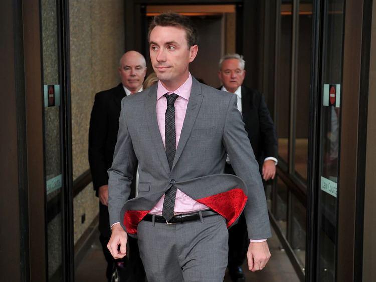 James Ashby James Ashby alleges Christopher Pyne offered him lawyer job SBS News