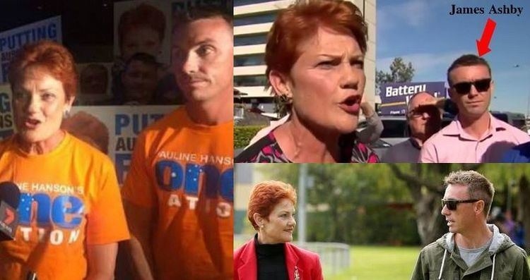 James Ashby James Ashby Pauline Hanson39s hand grenade