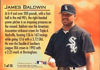 James Baldwin (baseball) The Trading Card Database 1995 Ultra Golden Prospects