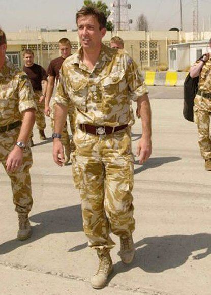 James Bashall Commander who led SAS rescue is hero of Iraq war London Evening