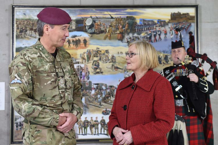 James Bashall A new painting marks Armys relationship with Scotland over last 100