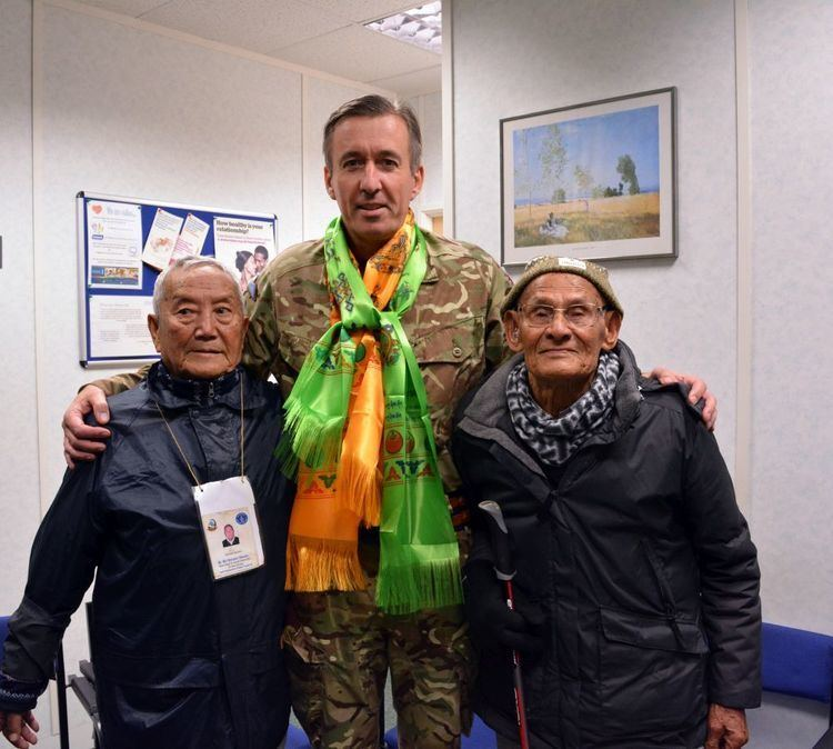 James Bashall Lieutenant General James Bashall CBE visits Gurkha Welfare Advice