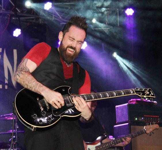 James Black (guitarist) GALLERY Finger Eleven concert Elliot Lake Standard