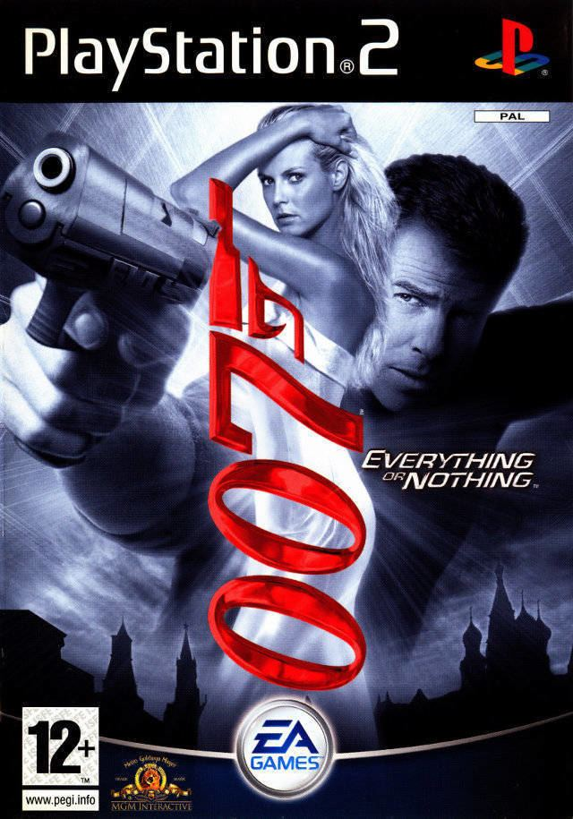James Bond 007: Everything or Nothing James Bond 007 Everything or Nothing Box Shot for PlayStation 2