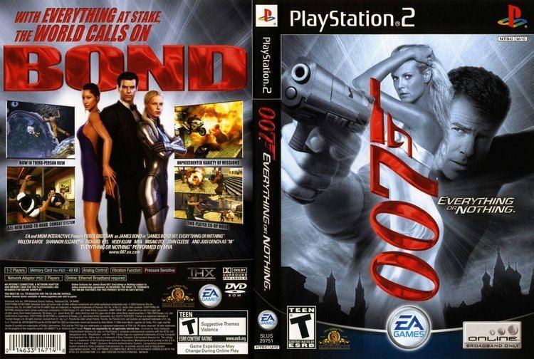 James Bond 007: Everything or Nothing 007 Everything or Nothing USA ISO lt PS2 ISOs Emuparadise